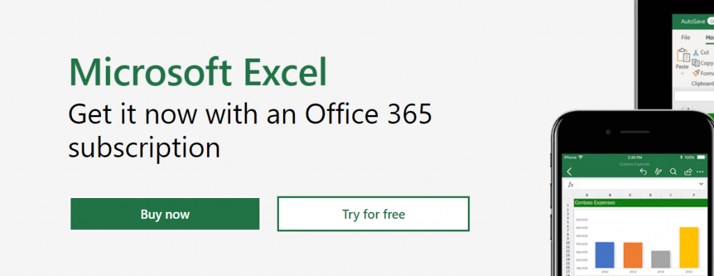 Microsoft excel online: Google sheets alternative