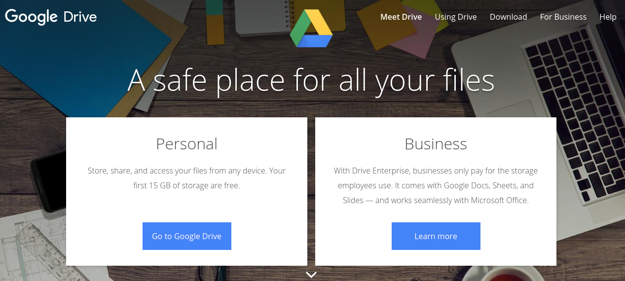 Google drive: Collaboration tool