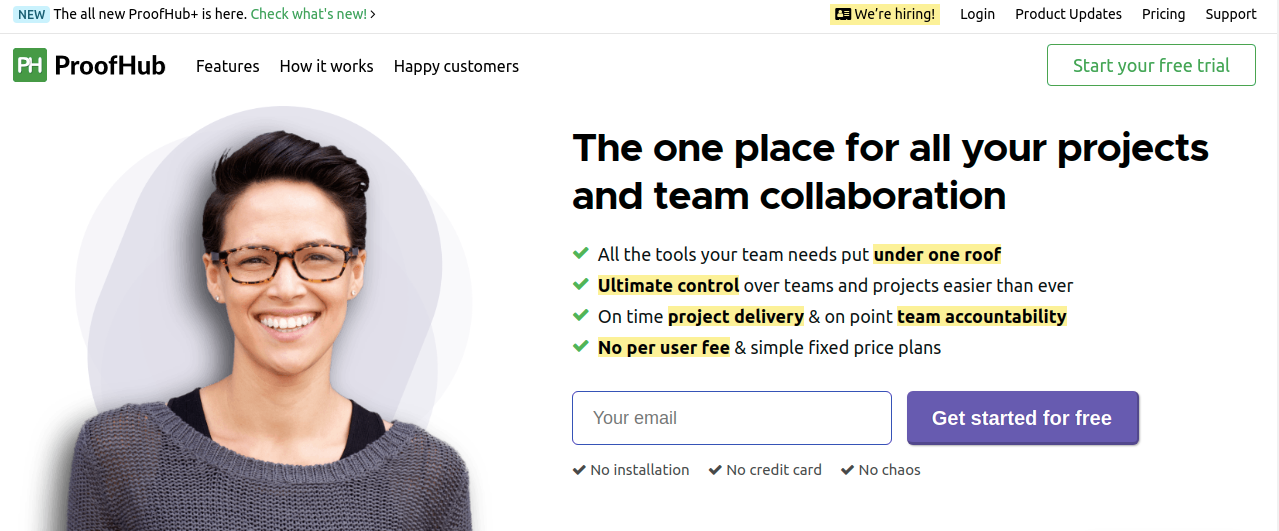 Proofhub: Collaboration tool