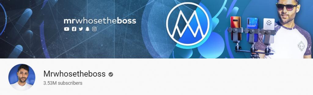 Mrwhosetheboss: Tech youtube channel
