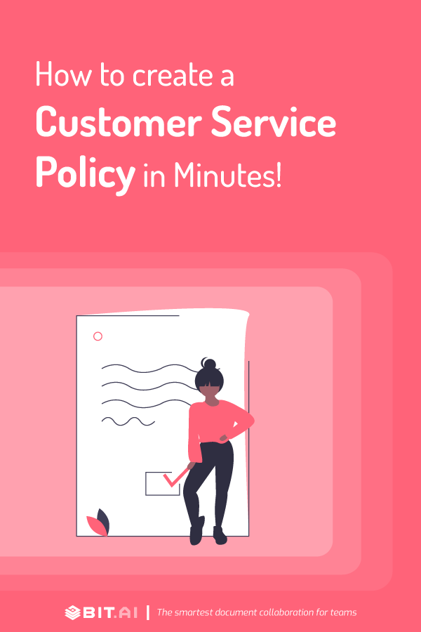 How to create a customer service policy - Pinterest