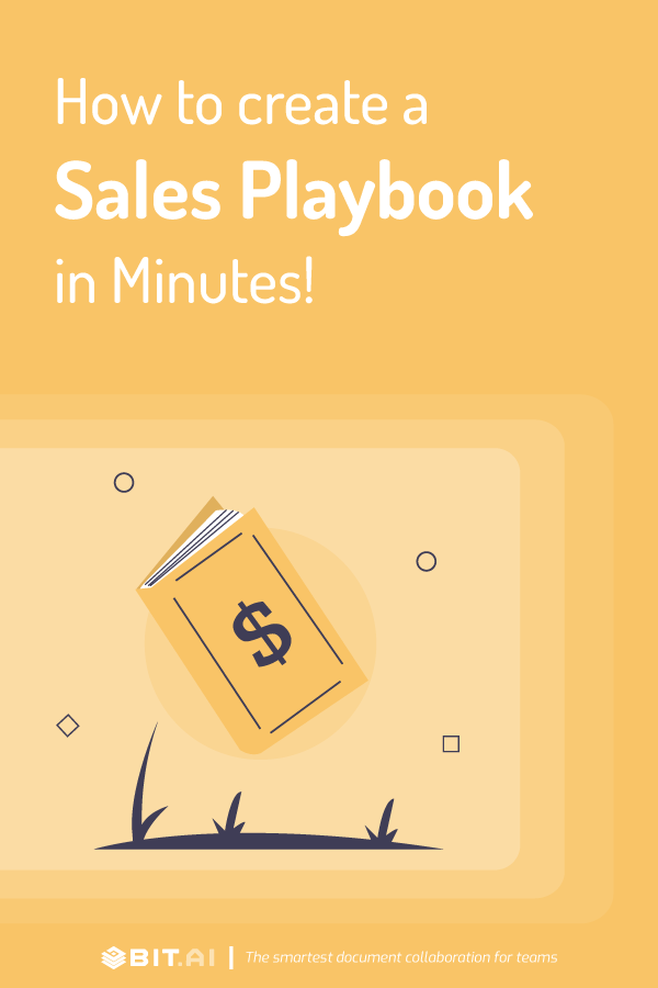 How to create a sales playbook - pinterest