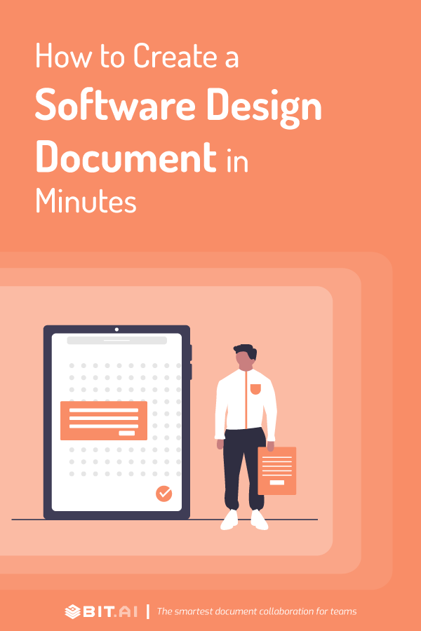 How to create software design document - pinterest
