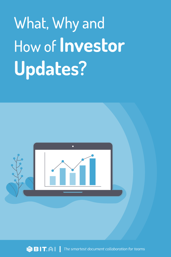 How to create an investor update document - Pinterest