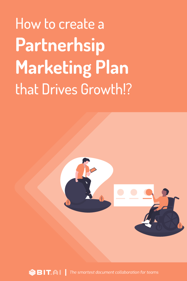 How to create partnership marketing plan - Pinterest