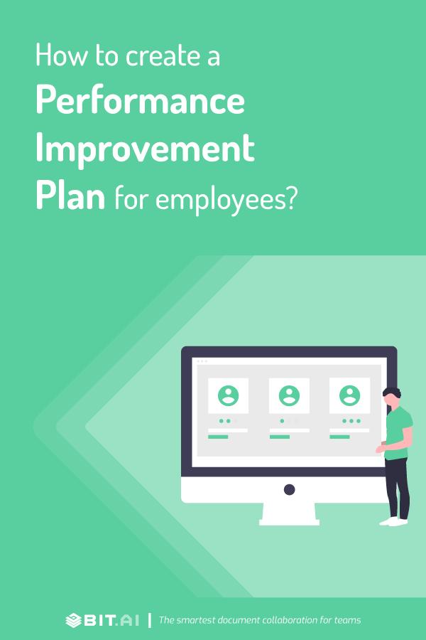 How to create performance improvement plan - Pinterest
