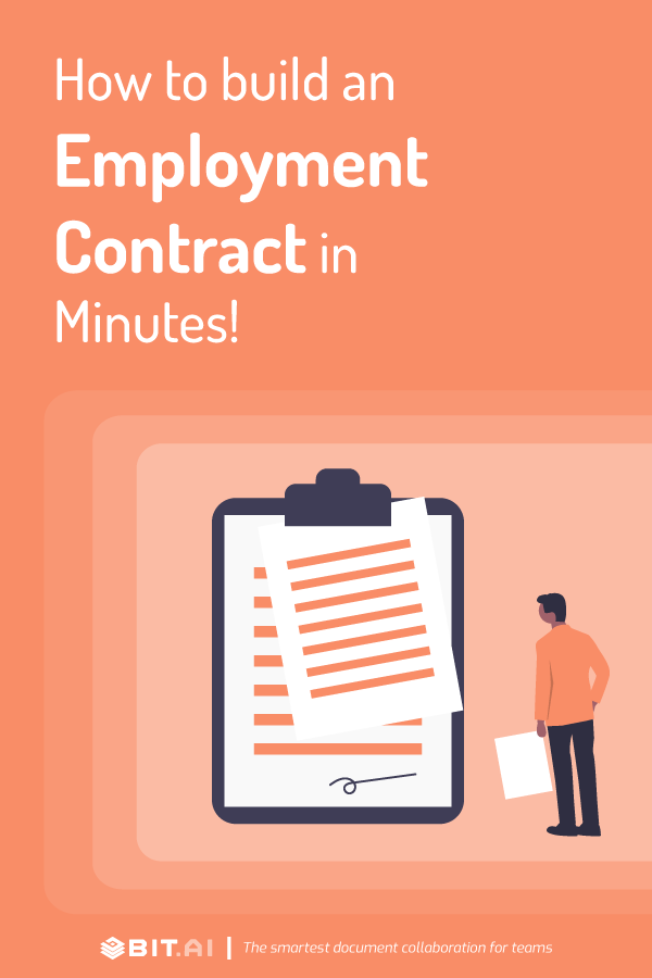 How to make an employment contract - Pinterest
