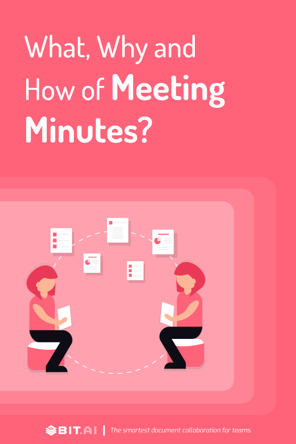 How to write effective meeting minutes - Pinterest