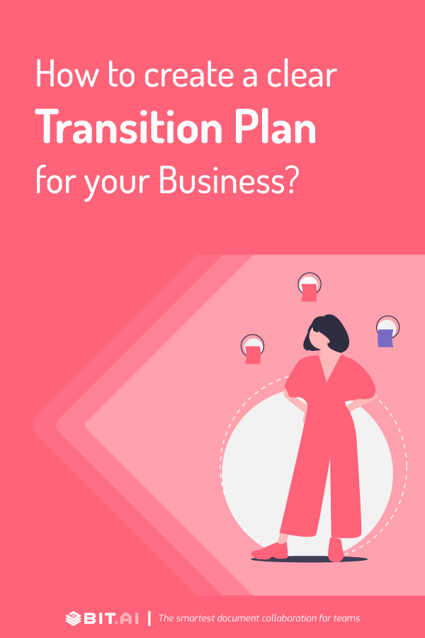 How to create a transition plan - Pinterest