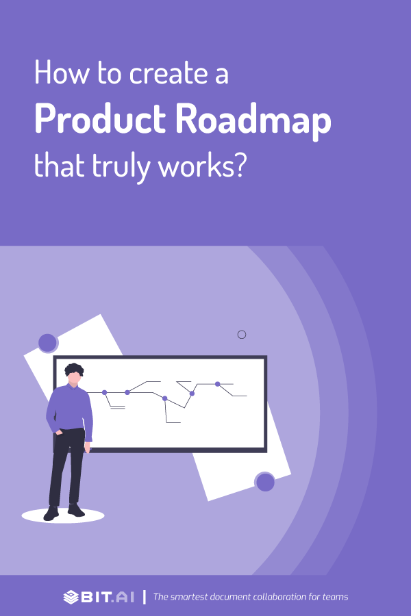 How to create a product roadmap -Pinterest