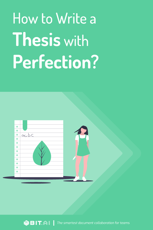 How to write a thesis - Pinterest