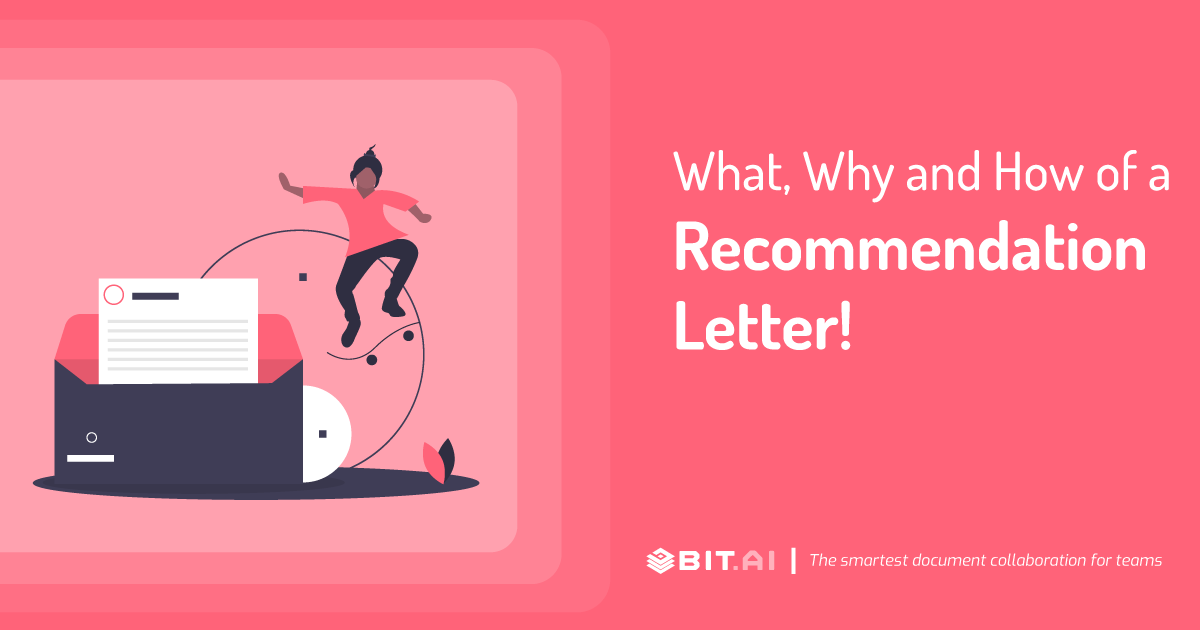 Write A Recommendation Letter from blog.bit.ai
