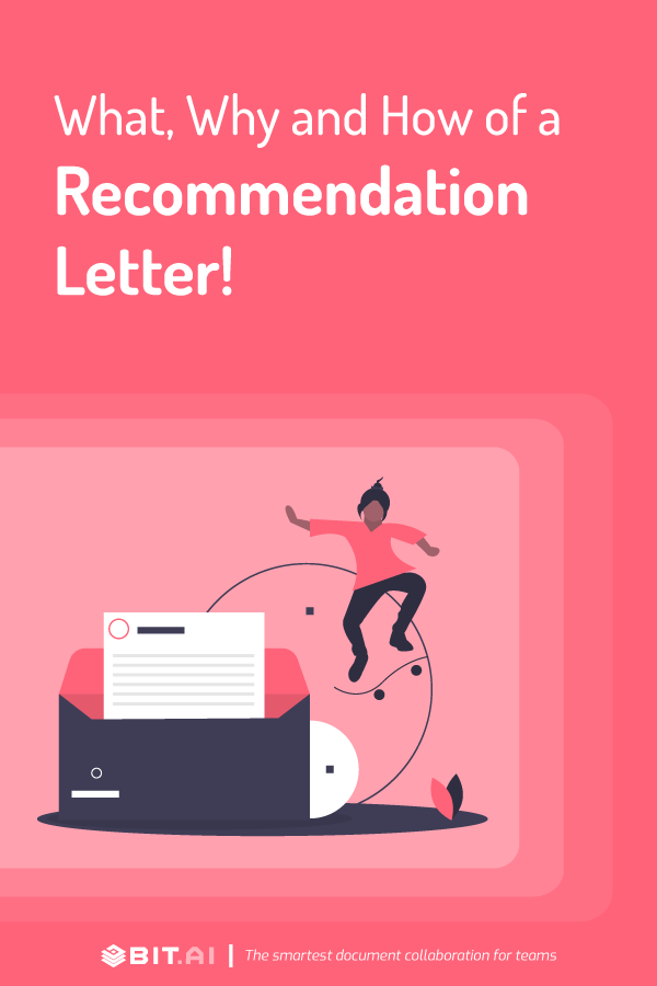 How to write a letter of recommendation - Pinterest