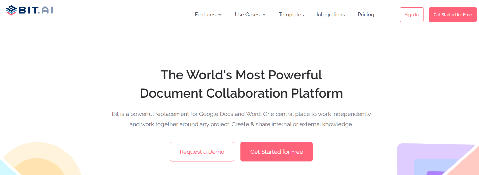 Bit.ai: Document collaboration tool