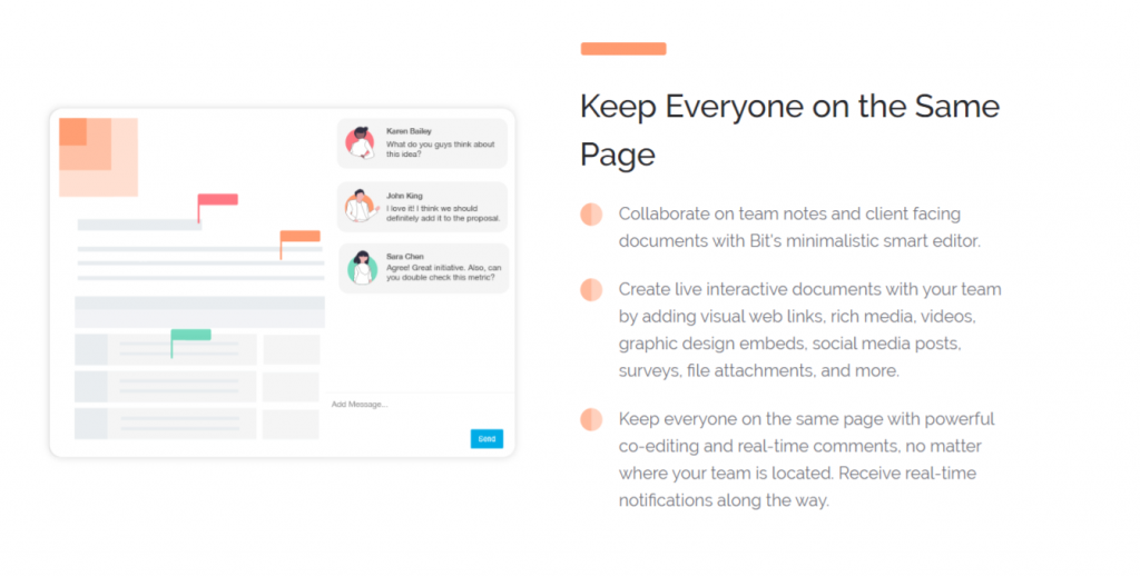 Collaborate on documents in real time