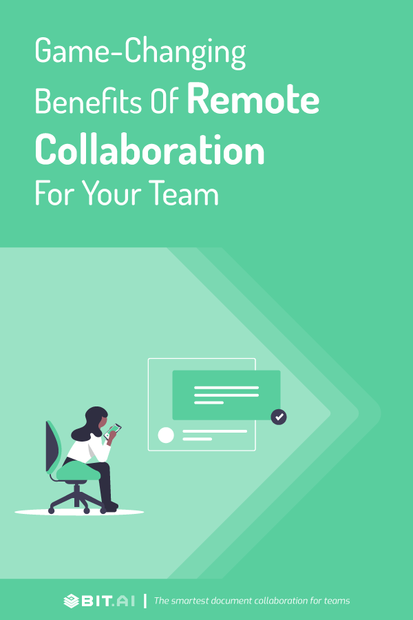 Benefits of remote collaboration - pinterest