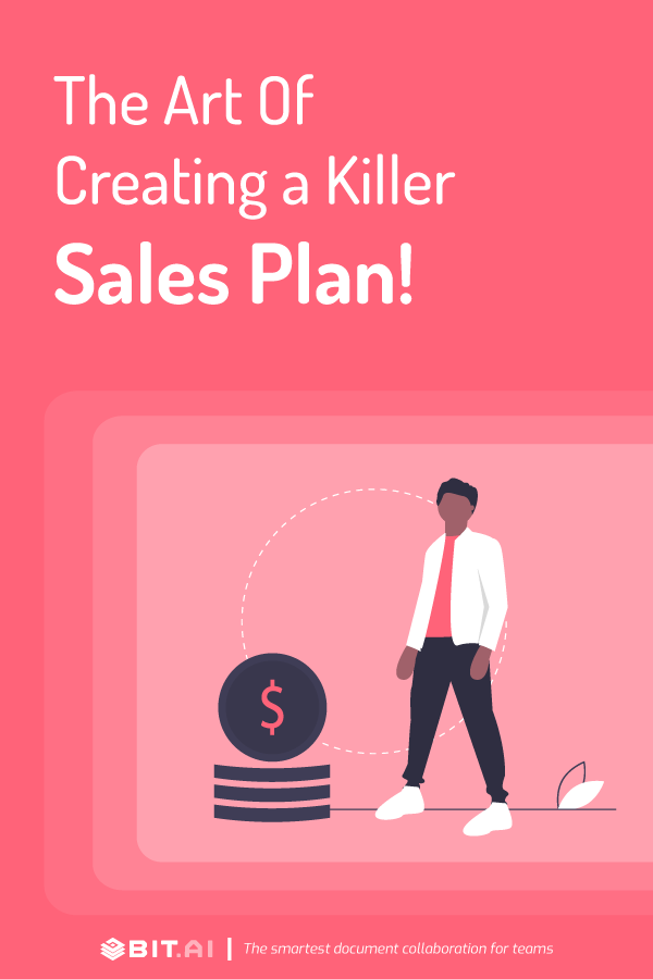 How to create a killer sales plan - pinterest