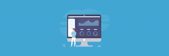 How to create a sales dashboard - blog banner