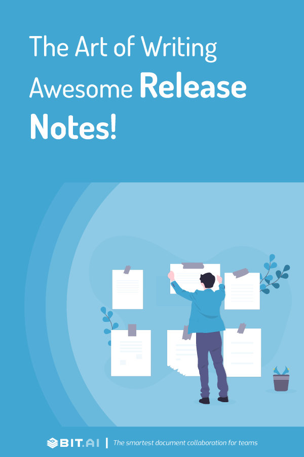 The art of writing awesome release notes - pinterest