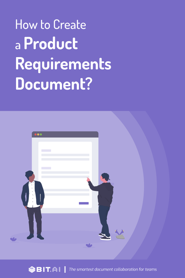 How to create product requirements document - Pinterest