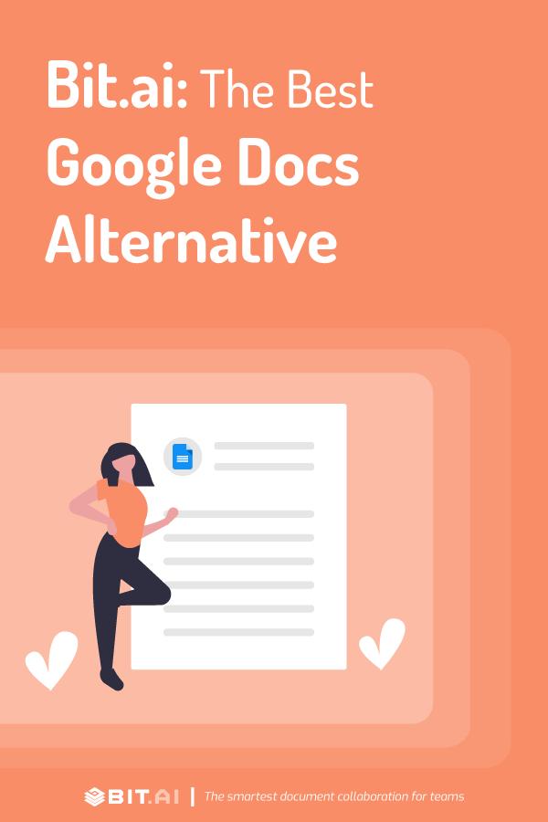 Why bit.ai is the best google docs alternative? - pinterest