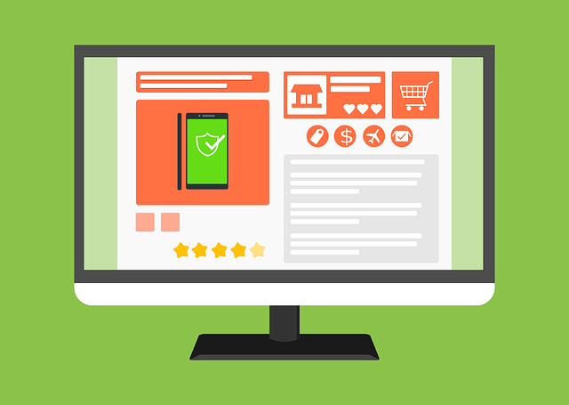 An ecommerce site selling items online