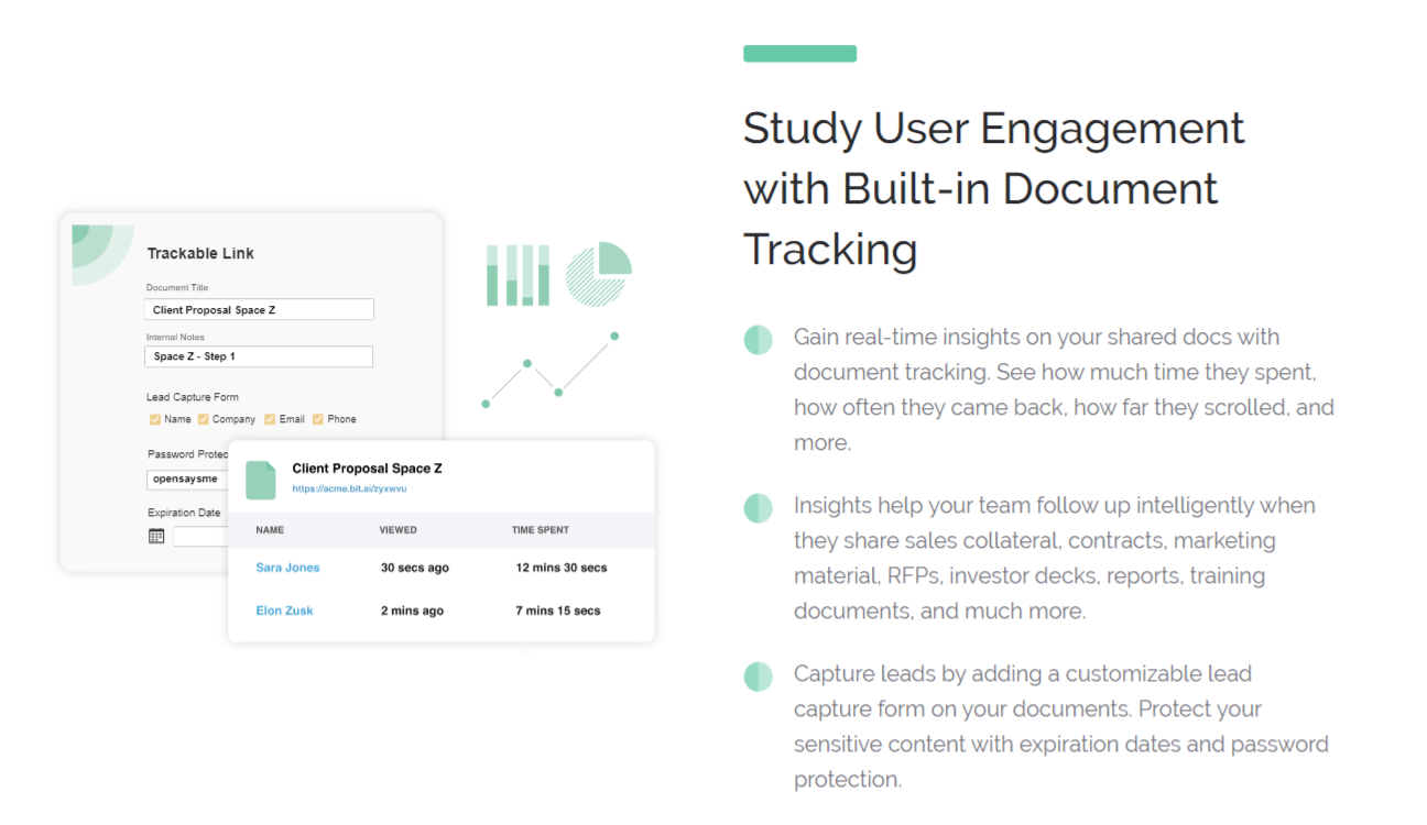 Track your shared document