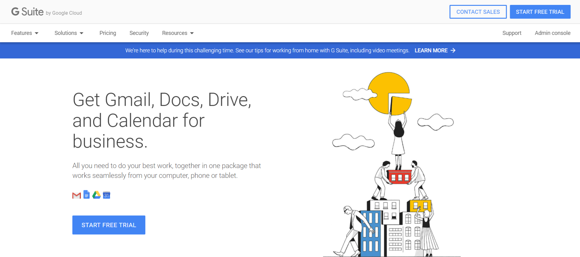 G Suite: Remote collabortaion tool