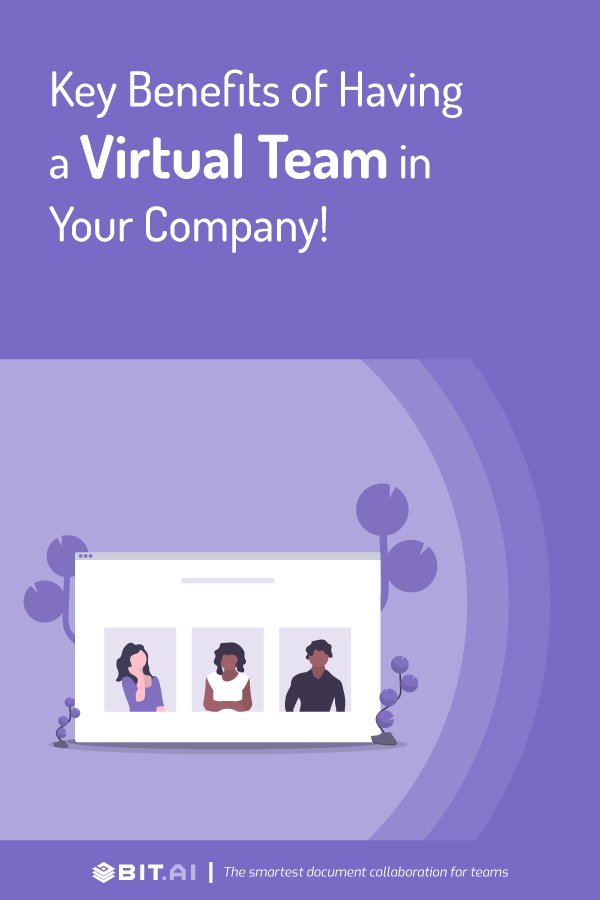 Benefits of virtual team - pinterest