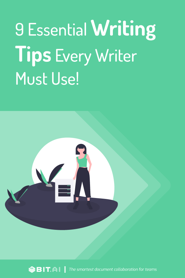 Writing tips - Pinterest
