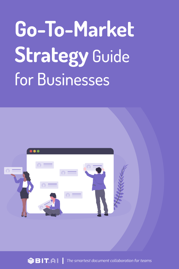 Go to market strategy guide - pinterest