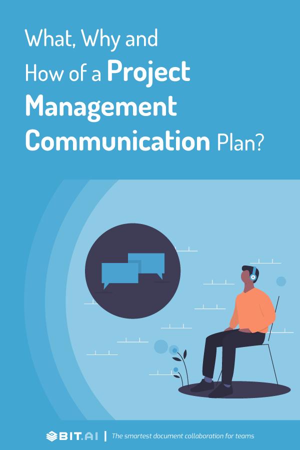 Project management communication plan - pinterest