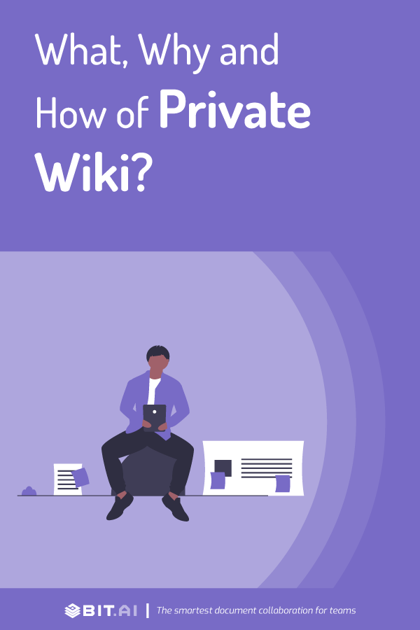 How to create a private wiki - pinterest