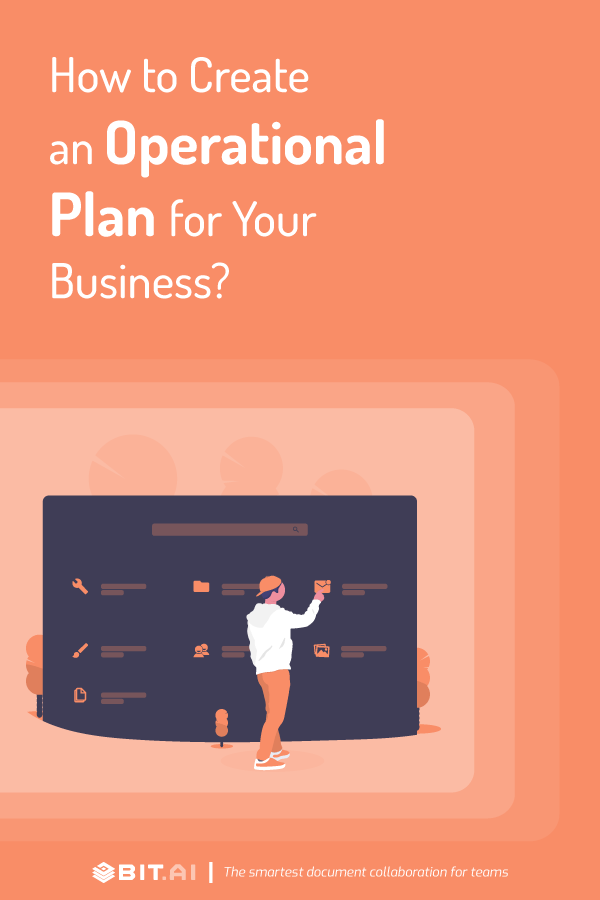 How to create an operational plan - pinterest