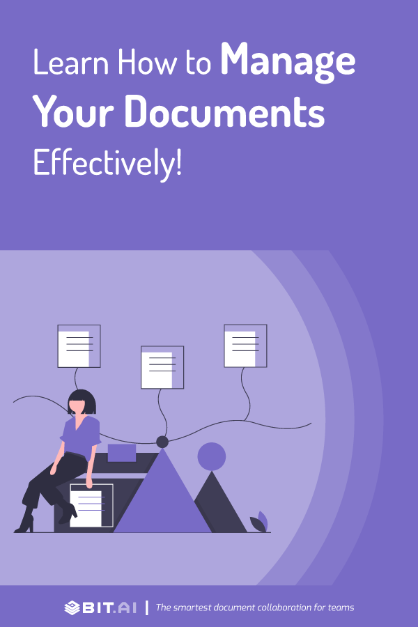 How to manage documents effectively - pinterest