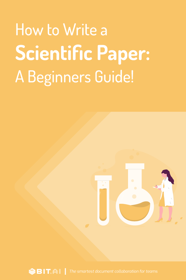 How to write a scientific paper - pinterest