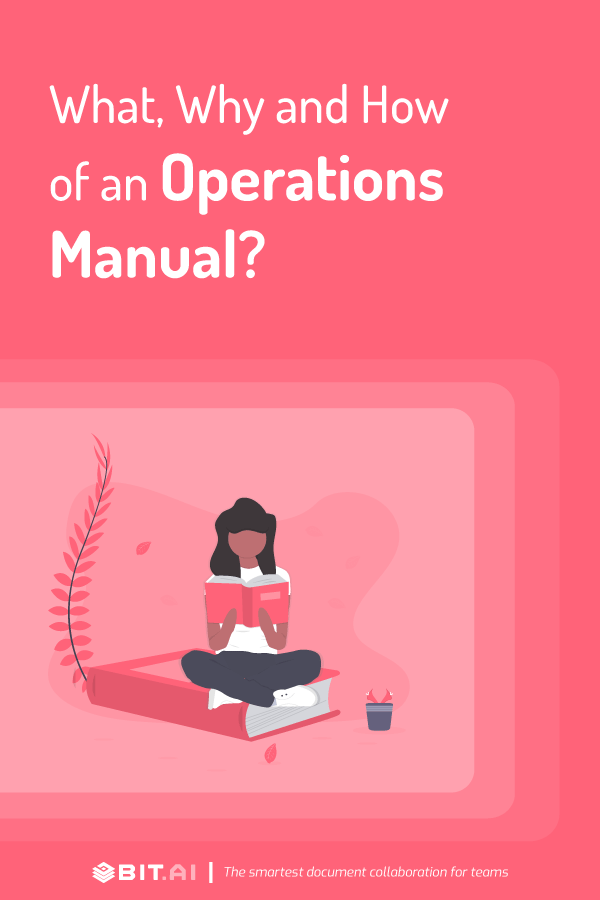 How to write an operations manual? - pinterest