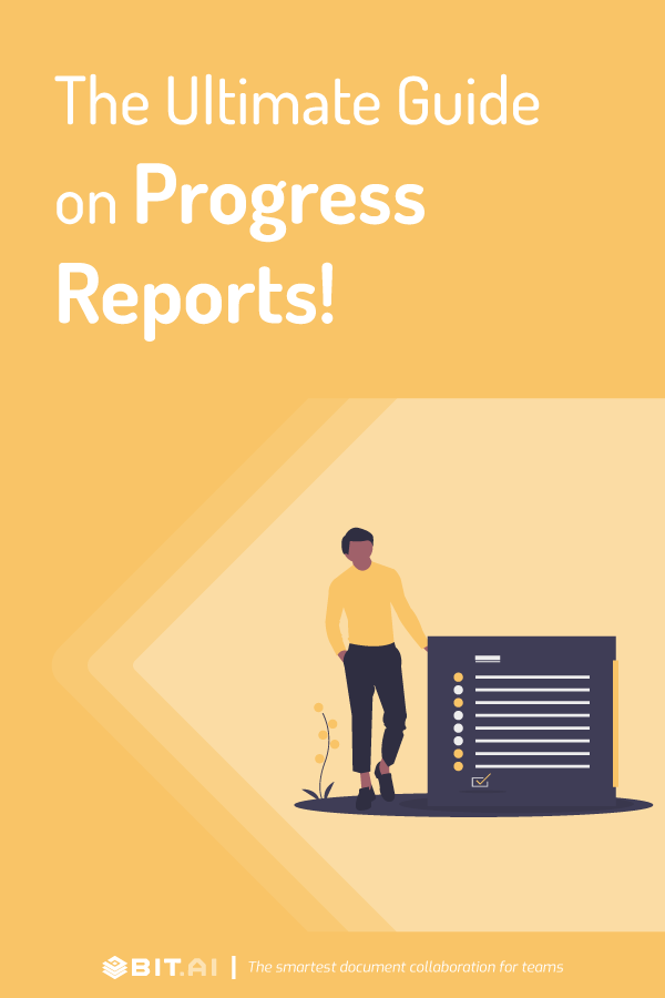 The ultimate guide to progress report - pinterest