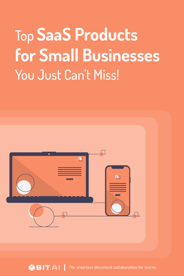 Top saas products for small businesses - Pinterest