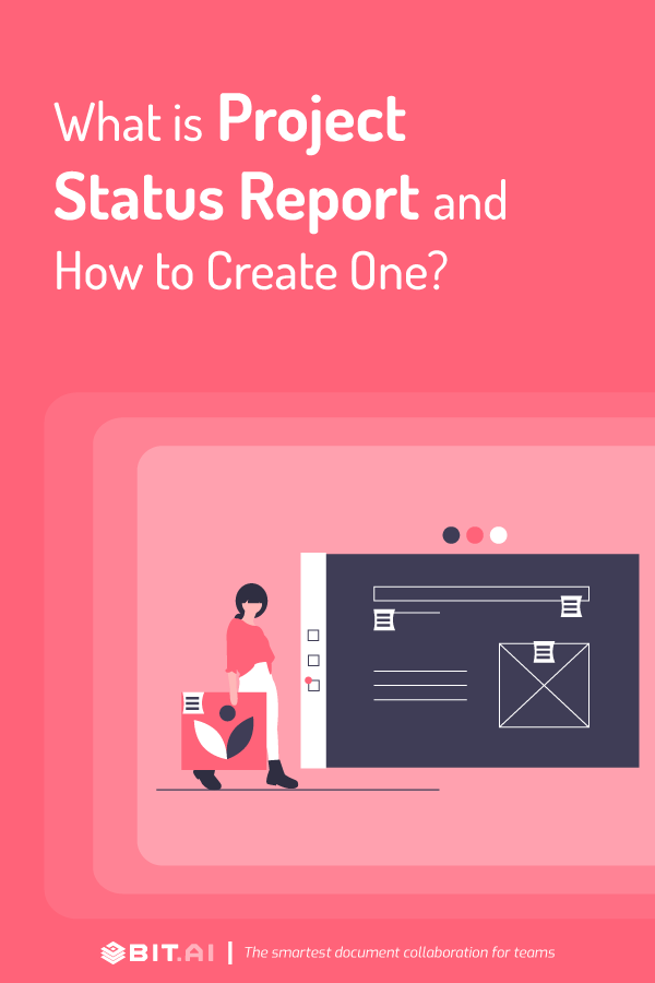 What is a project status report documentation - pinterest