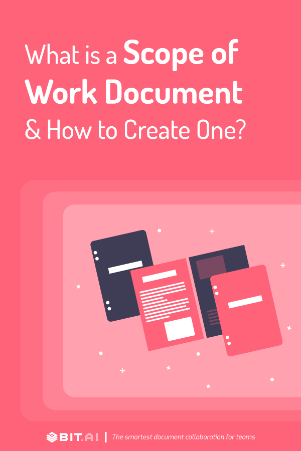 What is scope of work document - pinterest