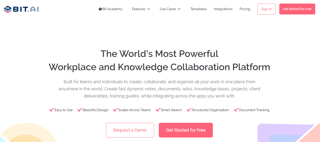 Bit.ai: Document creation tool