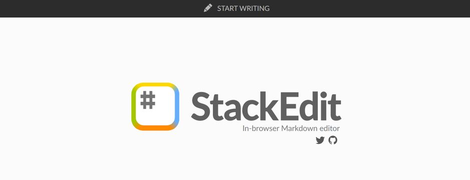 Stackedit: App for writing a book