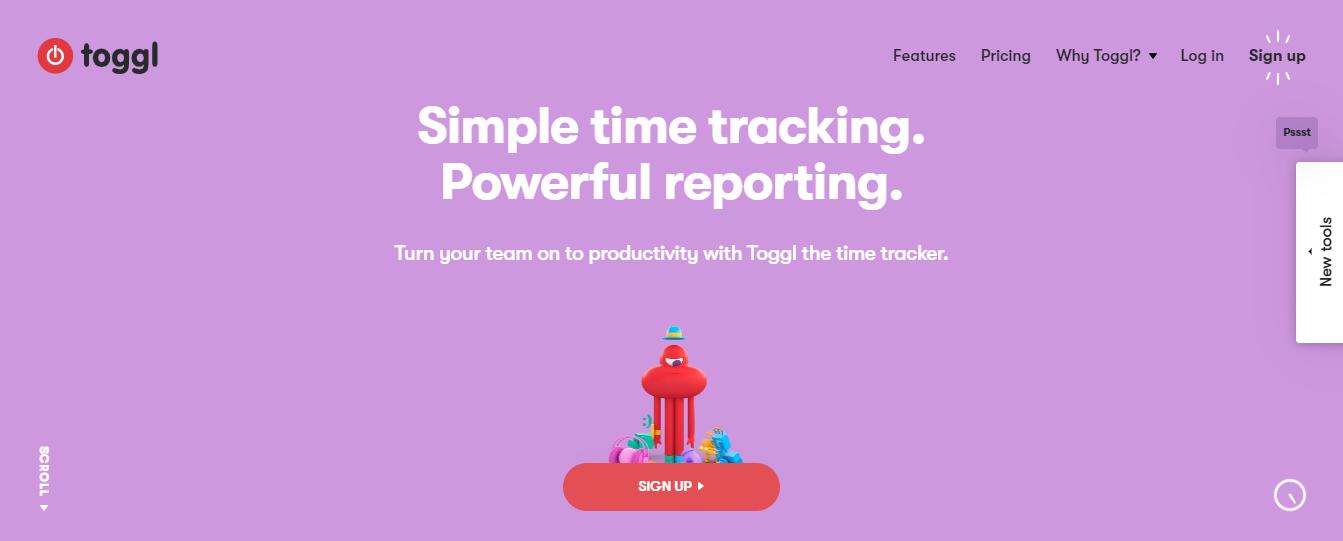 Toggl: Saas product