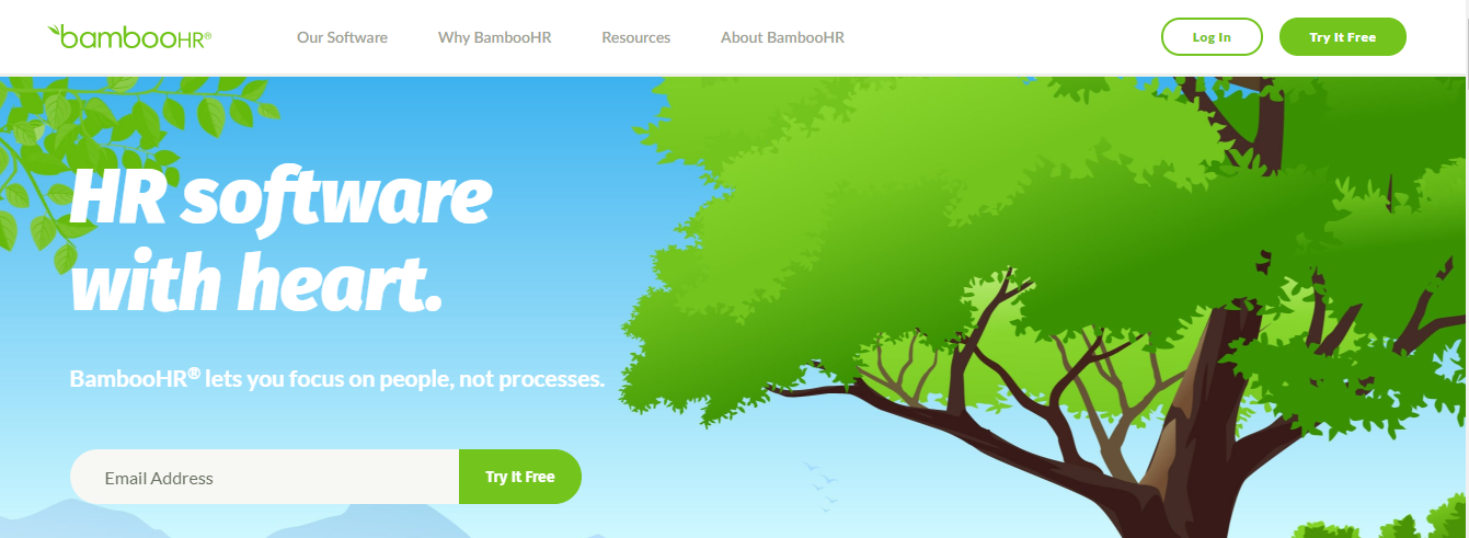 BambooHr: Saas product