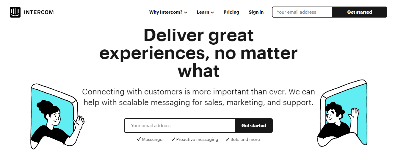 Intercom: Saas product