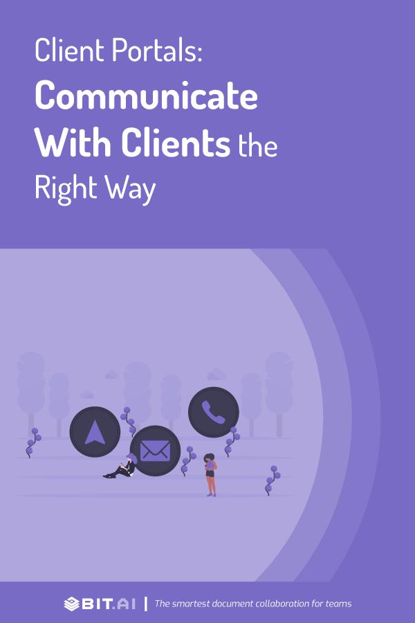 Client portal - pinterest