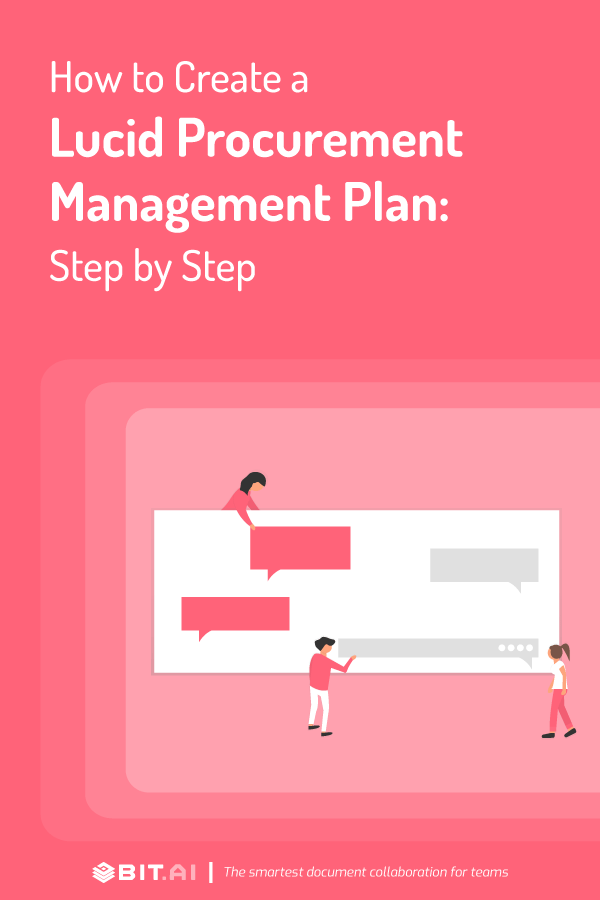 Precurement management plan - pinterest
