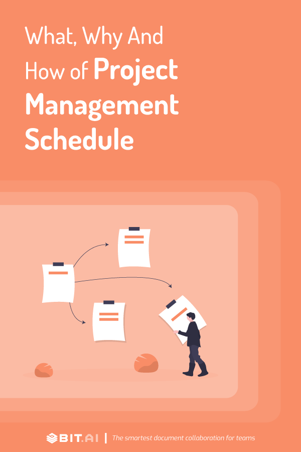 Project management schedule - Pinterest