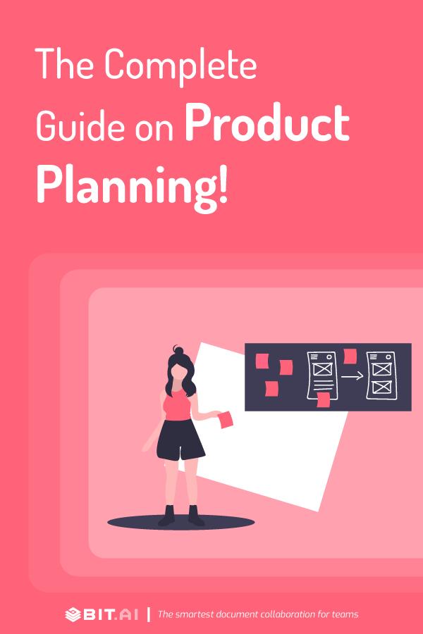 Project planning - Pinterest